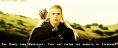 they are taking the hobbits to isengard!