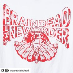 BRAINDEAD  THE NEW ORDER Collection is available now at BRAINDEAD stockists @wearebraindead #braindead #theneworder #thenewordermagazine via @thenewordermagazine Instagram