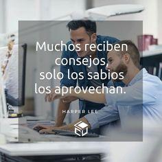 Aprovecha los consejos.  #LaCuadraU #Frases #FrasesLCU