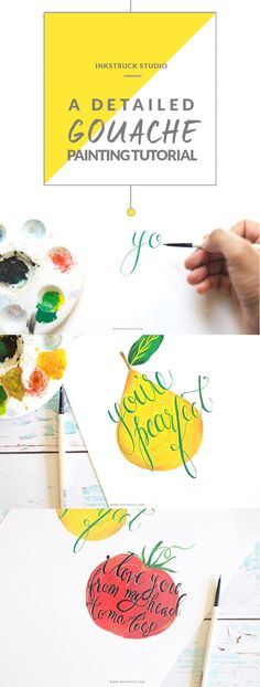 Learn how to create gouache painting the easy way using this tutorial by Zakkiya hamza of Inkstruck Studio.