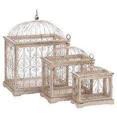3-Piece Ophelia Birdcage Set