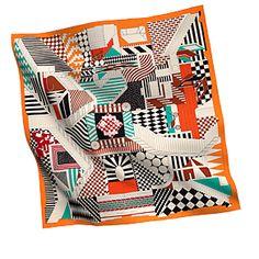 Beautiful Hermes Scarves #Polkadots #scarves #hermes