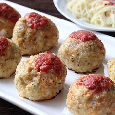 Try our Parmesan-infused chicken meatball instead! The switch in protein & the addition of cheese helps make this an Italian-inspired favorite.