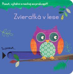 Posuň, vytiahni a nechaj sa prekvapiť –  Zvieratká v lese Lunch Box, Books, Libros, Book, Bento Box, Book Illustrations, Libri