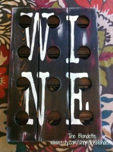 Wine rack. Wood. Wine. Wine sign. Decoration.