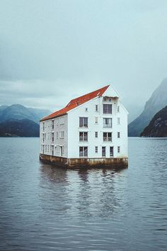 Home in water