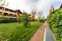 Dai un'occhiata a questo fantastico annuncio su Airbnb: Un giardino sul lago - Appartamenti in affitto a Sirmione