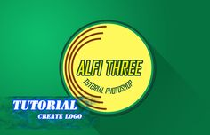 Photoshop tutorial create simple logo