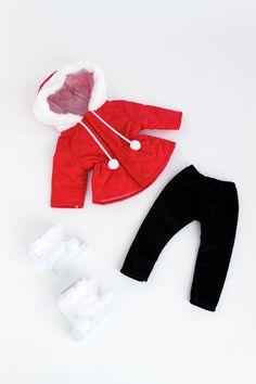 Winter Extravaganza Clothes for 18 inch von DreamWorldCollection