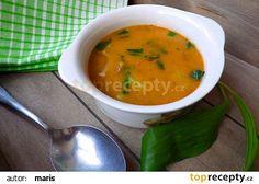 Pikantní polévka z hlívy s medvědím česnekem recept - TopRecepty.cz Thai Red Curry, Food And Drink, Treats, Ethnic Recipes, Sweet Like Candy, Goodies, Sweets, Snacks