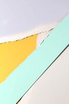 Paper study by Vilde J. Rolfsen (With images) Palette Pastel, Pastel Colors, Pastel Yellow, Bright Colors, Textures Patterns, Color Patterns, Br House, Photo Libre, Photocollage