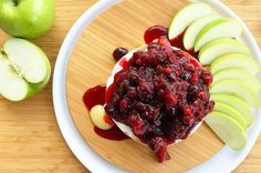 7. Cranberry Baked Brie