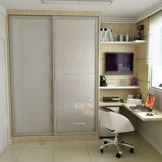 Home Office Design, Home Office Decor, House Design, Design Design, Room Interior, Interior Design Living Room, Diy Interior, Kitchen Interior, Home Office Closet