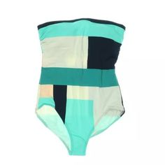 SALEKATE SPADE Colorblock Strapless Swimsuit Manufacturer: Kate Spade Size: S Manufacturer Color: Fremont Retail: $250.00 Condition: New with tags Style Type: One-Piece Collection: Kate Spade Padding: Removable Padding Straps: Strapless Material: 84% Nylon/16% Spandex Fabric Type: Nylon Specialty: Colorblock Removable Padding and Strap Included kate spade Swim One Pieces