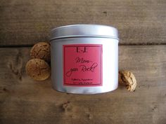 Soy Candle 6oz Gifts for Mom Vanilla di EstherEssenceCandles