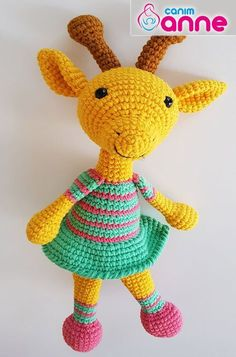 Amigurumi Bebek Zürafa Yapımı