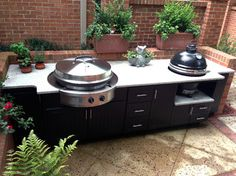 Outdoor Kitchen I with Evo Circular Cooktop