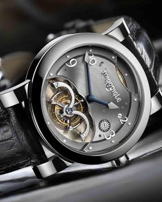 For those who haven't heard of the McGonigle brothers, watchmakers from Ireland. Members of the AHCI for independent watch makers, they have worked behind the scenes for years working with other brands to create some very complex movements. This Tourbillon is from their own brand McGonigle and was their first piece. The basic design of the movement and most of the components has been sourced from Christophe Claret. Using a free sprung Tourbillon at its heart and featuring subtle Celtic…