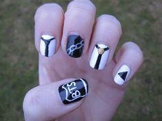 Kpop: BTS - Boy in Luv nail art - YouTube