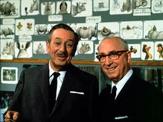 Walt and Roy Disney - in the '60's    Walt was creative, but without Roy to handle the money, Disney as we know it wouldn't exist. I think a lot of people forget that.