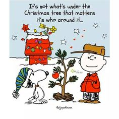 It's not what's under the tree quotes quote charlie brown snoopy christmas christmas quotes Snoopy Christmas, Noel Christmas, Little Christmas, Winter Christmas, Christmas Crafts, Vintage Christmas, Charlie Brown Christmas Quotes, Christmas Cartoons, Christmas Poster