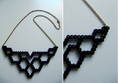 Necklace perler beads