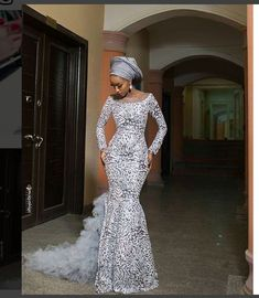 African Party Dresses Hi ladies. Here are the latest beautiful African party dresses that you need to choose to make your weekend amazing. African Party Dresses, African Lace Dresses, African Fashion Dresses, Party Dresses For Women, Dress Fashion, Fashion Outfits, Nigerian Wedding Dress, African Wedding Attire, African Attire