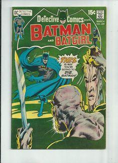 DETECTIVE COMICS #409 Great Bronze Age find w/ amazing Neal Adams cover art!  http://r.ebay.com/vB9mII