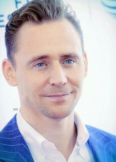 There are so many ways I could describe Tom Hiddleston. But let's just go with adorable!
