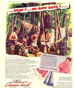 Steamy Homoerotic World War II Towel Ads