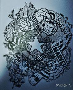 Art Tattoo Ideas Universe 35 Ideas For 2019 Thor Tattoo, Avengers Tattoo, Marvel Tattoos, Avengers Art, Marvel Art, Tattoo Art, Art Sketches, Art Drawings, Doddle Art