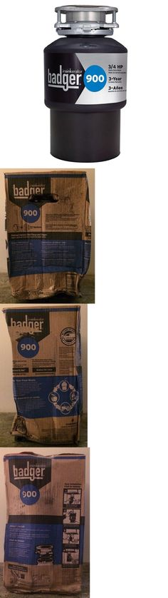 garbage disposals new badger 900 3 4hp continuous feed garbage disposal u003e