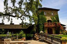 V. Sattui winery, Sonoma CA.