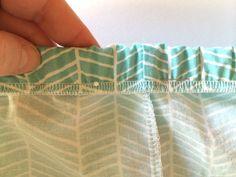no flip elastic wasteband tutorial