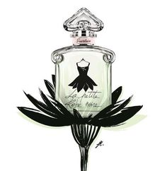 Ma robe pétales  23 février 2015 #marobepetales #lprn #lapetiterobenoire #guerlain