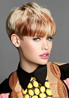 Cute Hairstyle Ideas for Long Face 2020 Best Short Haircuts - Kurzhaarfrisuren Short Pixie Haircuts, Short Bob Hairstyles, Cute Hairstyles, Hairstyle Ideas, Elegant Hairstyles, Short Blonde, Blonde Hair, Short Hair Cuts For Women, Short Hair Styles
