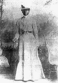 Mary Elizabeth Bowser, Union spy in the home of Confederate President Jefferson Davis.