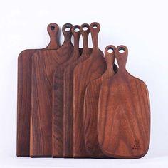 Handmade Black Walnut Hanging Cutting Board