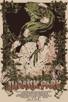 Jurassic Park Poster - Created by Mainger