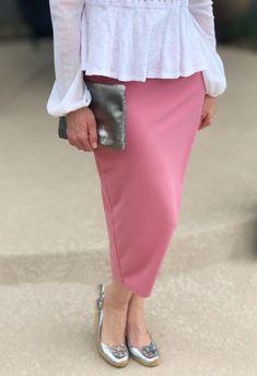 Blush Modest Pencil Skirt #shannasthreads  #pencilskirt  #apostolic