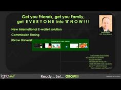 iGrow Network Webinar - Corporate Jump Start May 2015 - joveNetwork Sales And Marketing, Online Marketing, Social Media Marketing, Earn Money From Home, How To Make Money, Sales Courses, Career Opportunities, Multi Level Marketing, It Network