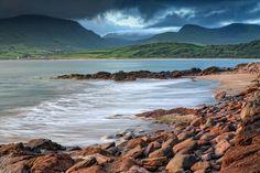 Brandon Bay, Dingle Peninsula, County Kerry. Photo: Carsten Krieger, from Ireland's Wild Atlantic Way (O'Brien Press)