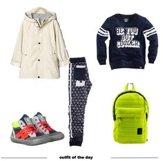 cooler boys outfit-k