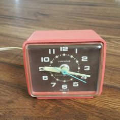 Check out this item in my Etsy shop https://www.etsy.com/listing/244494223/mcm-alarm-clock-retro-alarm-clock-mcm
