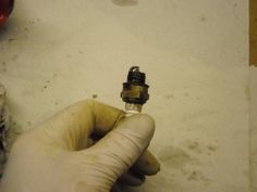 chechk out the spark plug...