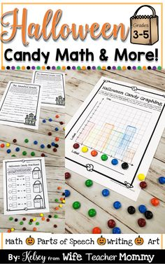 Halloween math and m