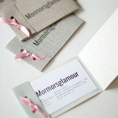 Here you find a description on how to make your own business cards. Always very appriciated and a great way to start a conversation.