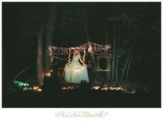 Nighttime Fairytale Wedding