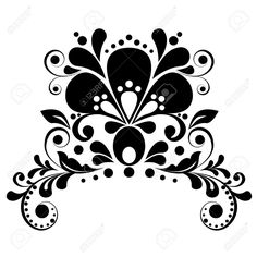 Curl Traditional Stock Vector Illustration And Royalty Free Curl ...