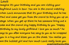 """""""Louis"""" by imagine-1d ❤ liked on Polyvore The funny thing is I read this 3 days before my birthday!!!"""